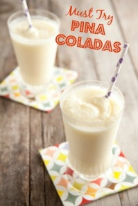 Must Try-- Pina Colada Recipe